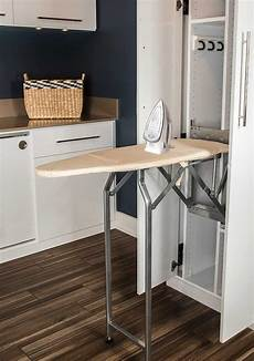 types of built in ironing boards