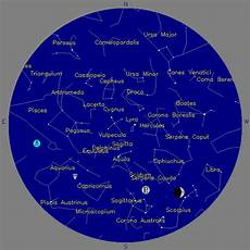 Nasa Sky Chart Western Colorado Astronomy Club Stars On The Monument