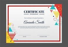 Design A Certificate Online Free Certificate Template Download Free Vector Art Stock