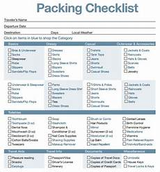 Pack This Checklist Printable Printable Travel Packing List In 2019 Packing List For