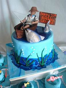 With Designs On Them Fishing Cakes Decoration Ideas Little Birthday Cakes