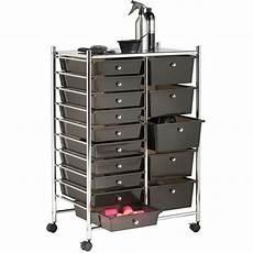 details about hair salon storage furniture black 15 drawer