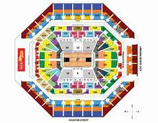 Spurs Seating Chart Seating Charts Att Center