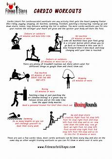 Cardiovascular Exercise Build Your Own Workout Fitness 1st Steps
