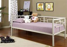 white metal size miami day bed daybed frame
