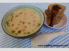 Chicken Oatmeal Porridge Serving with Oyster Sauce Tempe