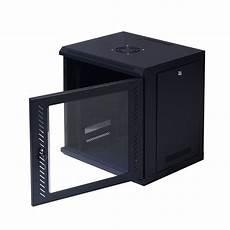 safstar 9u wall mount network server data cabinet