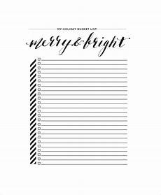 Bucket List Printable Template Bucket List Template 10 Free Word Pdf Documents