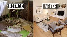 before and after house flip major renovation
