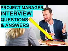 It Project Manager Interview Questions Project Manager Interview Questions And Answers Youtube