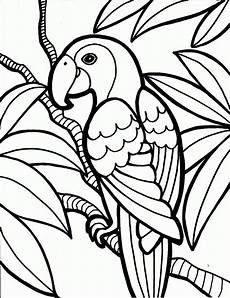 Malvorlage Tiere Einfach Coloring Pages 1 05 Jungle Coloring Pages Bird Coloring