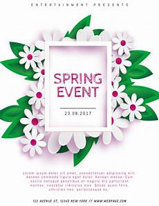 Spring Event Flyer Template Spring Event Flyer Template For Spring Postermywall