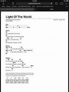 Light On Chords Light Of The World Chords Daigle Light Of The