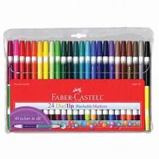Faber Castell Malvorlagen Ebay Faber Castell Duotip Washable Markers 24 Color Set 24