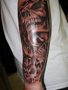 Full Sleeve Designs Skulls 25 Cool Tribal Skull Tattoos