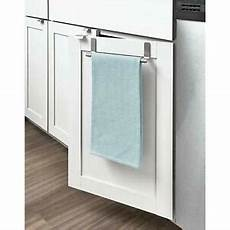 the door kitchen cabinet dish towel bar stainless