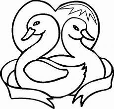 Malvorlagen Hochzeit Kostenlos Zwei Schwaene Ausmalbild Malvorlage Hochzeit