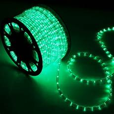 Led Rope Christmas Lights 150 Green Led Rope Light Home Outdoor Christmas