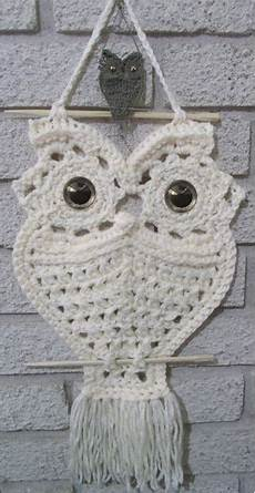 macrame owl necklace the whoot