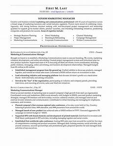 Characteristics For Resume Mid Career Resume Sample Professional Resume Examples