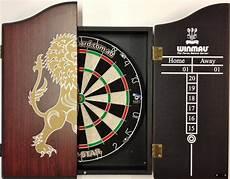 pro micro wire dart board set with winmau rosewood