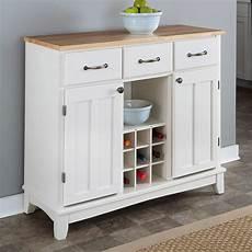 kitchen credenza wood top kitchen island sideboard cabinet wine
