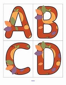 Fall Letters Template Fall Alphabet Free By Kidsparkz Teachers Pay Teachers