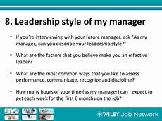 Describe Your Leadership Style Interviewing Department Related Questions Top Pharma Pros