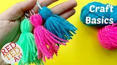 crafts for to make how to make a tassel easy yarn tassel diy