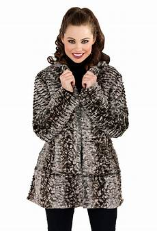 womens fur coats winter womens faux fur coat mid length jacket