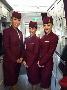 qatar cabin crew qatar airways flight attendants in 2019 flight