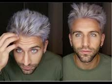 männer frisuren weiße haare weiss graue haare trunks mood kriegt ein makeover