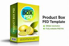 Product Box Template Product Box Psd Template Free Psd File