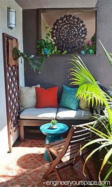 la apartment balcony makeover before and after