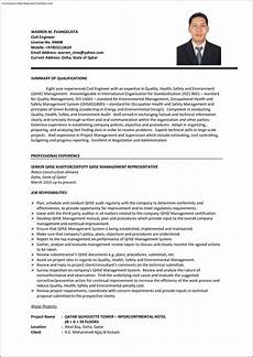 Professional Cv Format For Engineers Cv Template For Engineering Job Engineer Cv Example