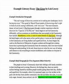 Response To Literature Essay Example Free Literary Essay