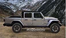 Jeep Truck 2020 by 2020 Jeep Scrambler Rubicon Truck Rendering