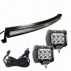 Yitamotor 50 Inch Light Bar Compare Price 50 Curved Led Light Bar White On