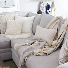 Gray Throws And Blankets For Sofa 3d Image by How To Choose The Best Throw Pillows For A Gray