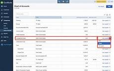 Quickbooks Online Chart Of Accounts Detail Type How To Edit Chart Of Accounts In Quickbooks