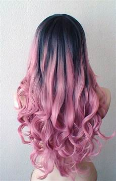 Black To Light Pink Ombre Hair 3 Trendy Bold Hair Colors And 25 Ideas Styleoholic