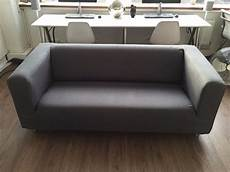 ikea klippan 2 seat sofa excellent condition new grey