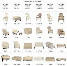 Sofa Yardage Chart Upholstery Yardage Chart Sal Beressi Fabrics