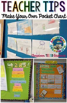 Welcome Chart For Classroom Make Your Own Pocket Chart Classroom Tested Resources