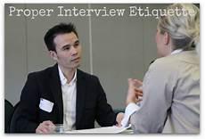 Job Etiquette Job Interview Etiquette For Women