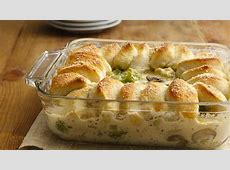 How I?m Serving Chicken Alfredo Biscuit Casserole from