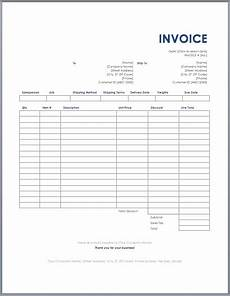 Transport Invoice Freight Invoice Template Ms Word Free Invoice Templates