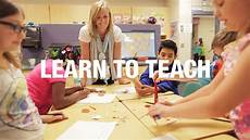 elementary education learn to teach