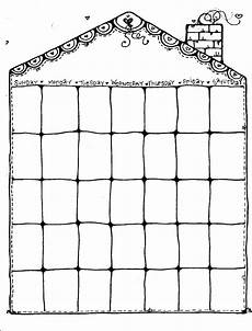 Blank Caledar Blank Weekly Calendars Printable Activity Shelter