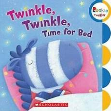 twinkle twinkle time for bed rookie toddler board